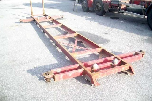 containerframe volvo F12 8x4