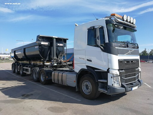 Volvo FH 540 6x4 with Zorzi trailer