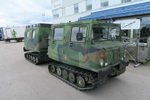 BV206 - Hägglunds All terrain - Amfibie ((SOLD!))