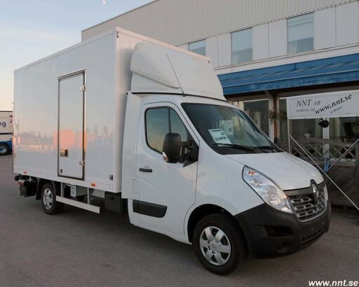 Renault Master 2.3 - Box + lift - 2016