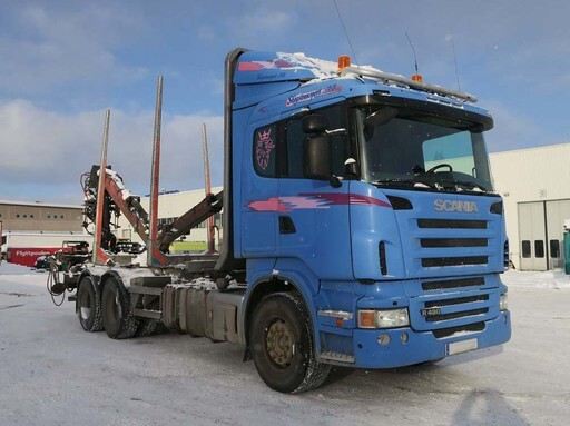 Scania R480 - Timbertruck with Loglift 96 (SOLD!!)